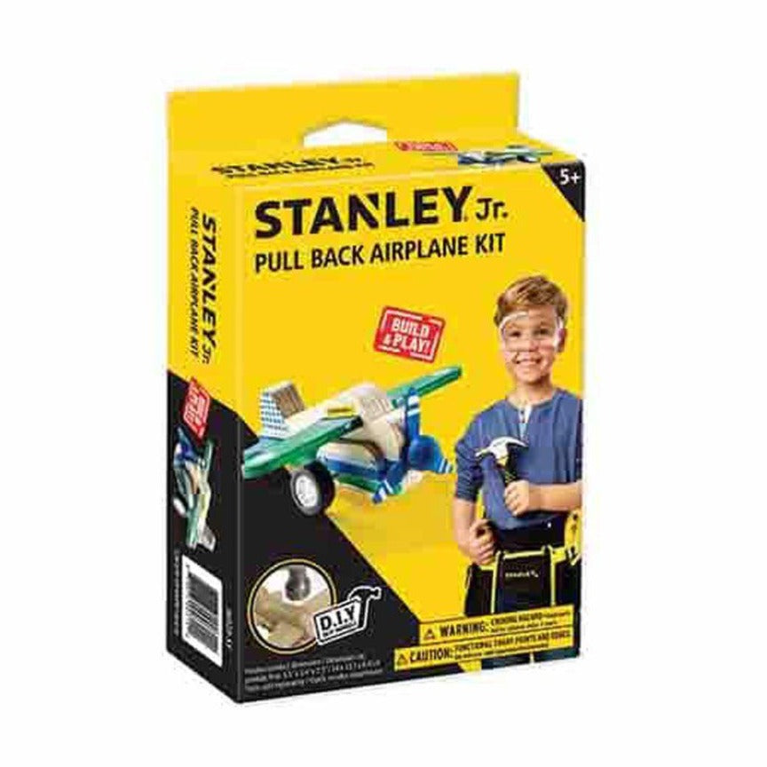 Stanley Junior Pullback Airplane - Toyworld