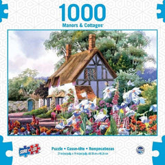 Surelox Manors & Cottages White Cottage 1000 Piece 1 - Toyworld