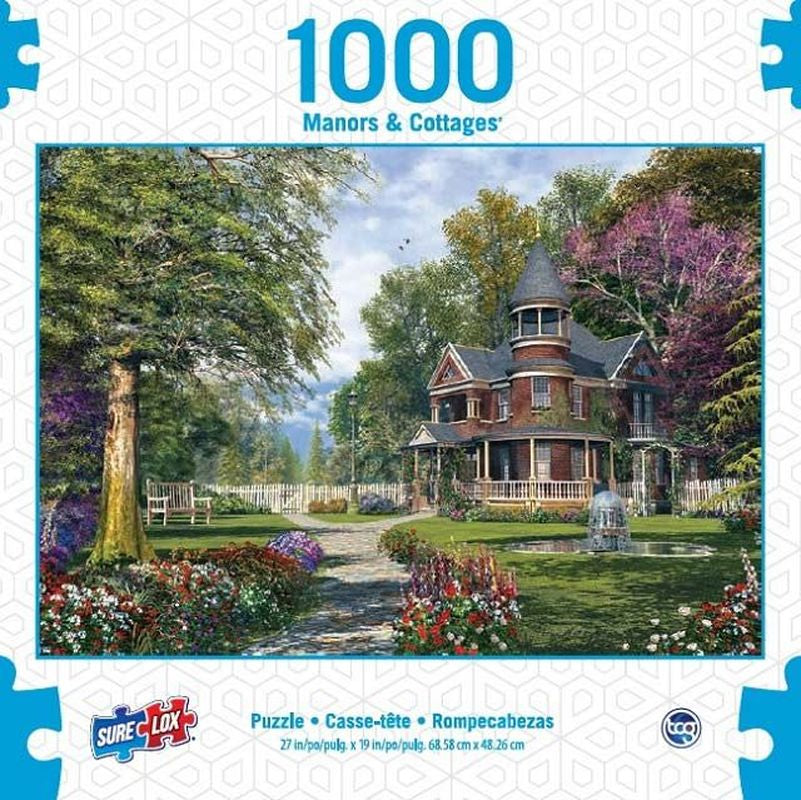 SURELOX MANORS AND COTTAGES GARDEN 1000 PIECE
