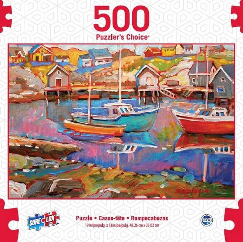 SURELOX PUZZLERS CHOICE MARINER 500 PIECE