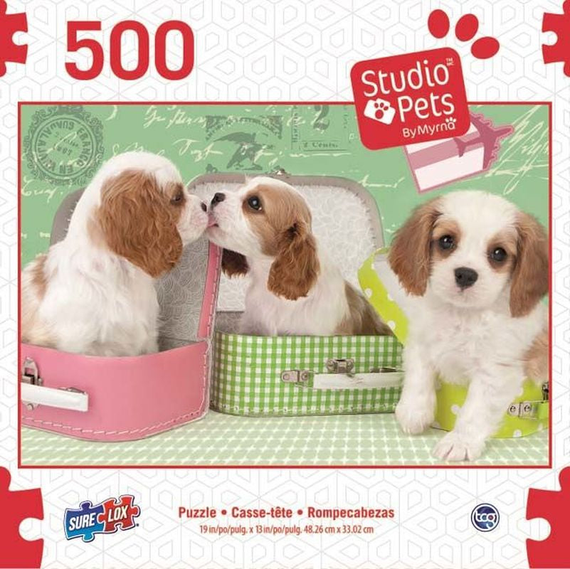 SURELOX STUDIO PETS DOGS IN LUGGAGE 500 PIECE