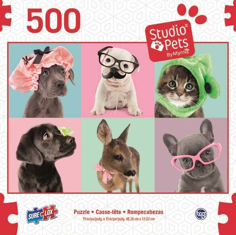 SURELOX STUDIO PETS DOG 6 PANEL 500 PIECE