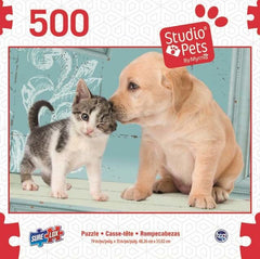 SURELOX STUDIO PETS DOG AND KITTEN 500 PIECE