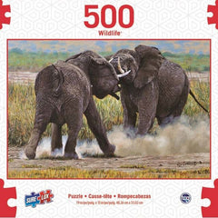 SURELOX WILDLIFE ELEPHANTS 500 PIECE