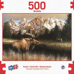 Surelox Wildlife Moose 500 Piece - Toyworld