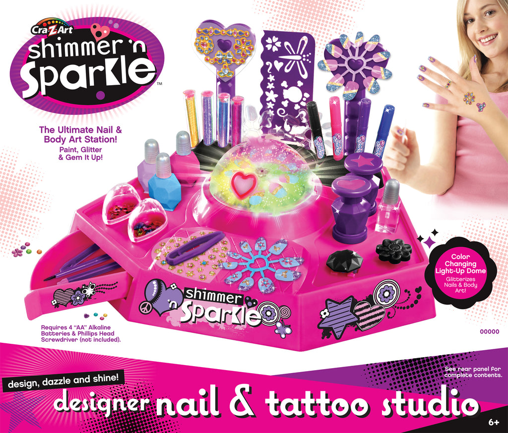 SHIMMER & SPARKLE NAIL DESIGN STUDIO - Toyworld