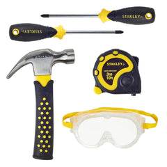 Stanley Jr 5 Piece Tool Set 1 - Toyworld