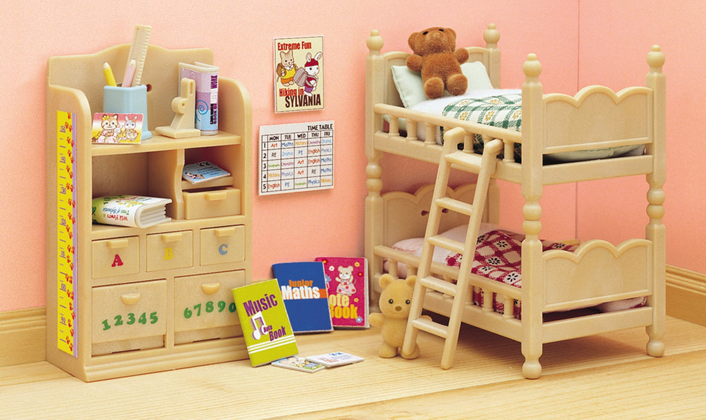 Sylvanian Families Childrens Bedroom Set - Toyworld