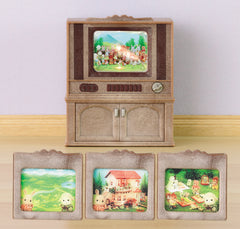 Sylvanian Families Deluxe Tv Set - Toyworld