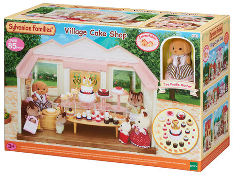 Sylvanian Families Village Cake Shop - Toyworld