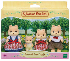Sylvanian Families Caramel Dog Family - Toyworld
