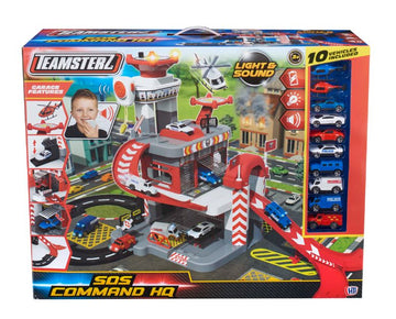 Teamsterz Light & Sound Sos Command Hq - Toyworld
