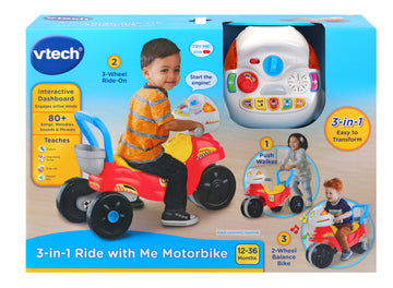 Vtech Ride With Me Motorbike - Toyworld