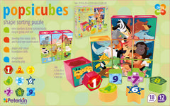 PLAY AND LEARN POPSICUBES SHAPE PUZZLE