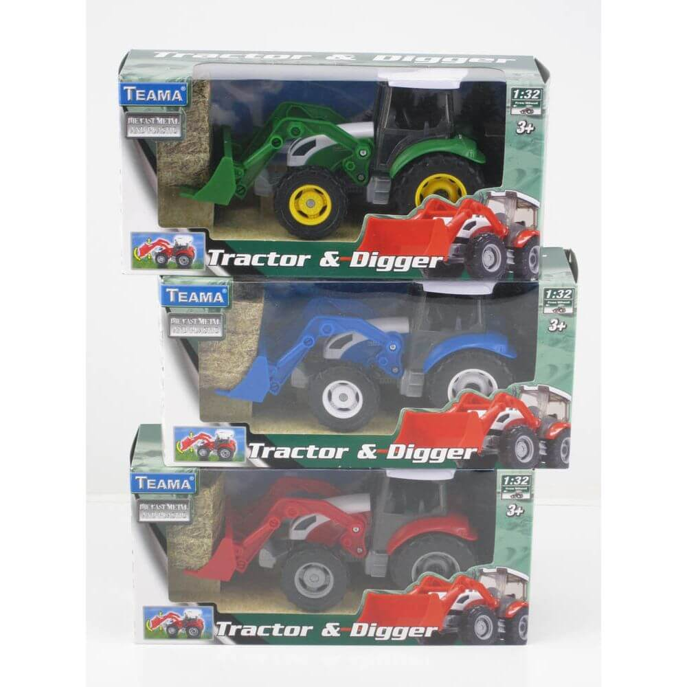 Teama Tracto Scoop Digger Assorted Styles - Toyworld