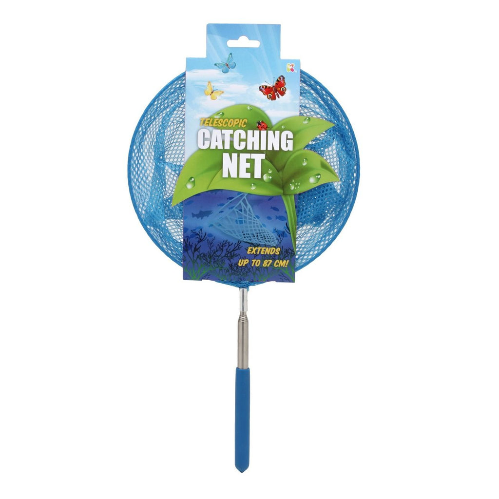 TELESCOPIC CATCHING NET ASSORTED COLORS