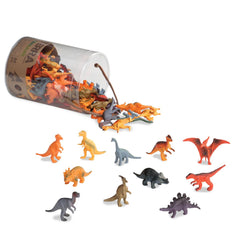 Terra Dinosaurs In Tube 60 Pieces Img 1 - Toyworld