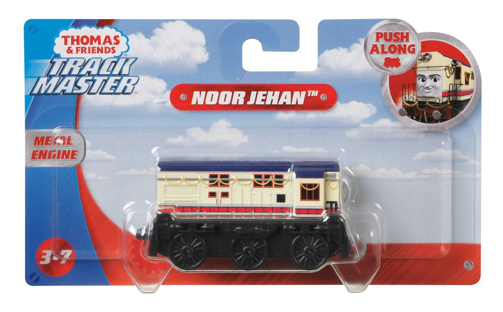 Thomas /& Friends ~ Trackmaster Push Along ~ Noor Jehan Die-Cast Engine