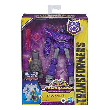 Transformers Cyberverse Adventures Deluxe Shockwave - Toyworld