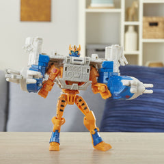 Transformers Cyberverse Spark Armor Elite Class Cheetor Sea Fury Img 4 - Toyworld