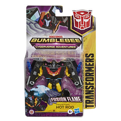 TRANSFORMERS CYBERVERSE STEALTH FORCE HOT ROD