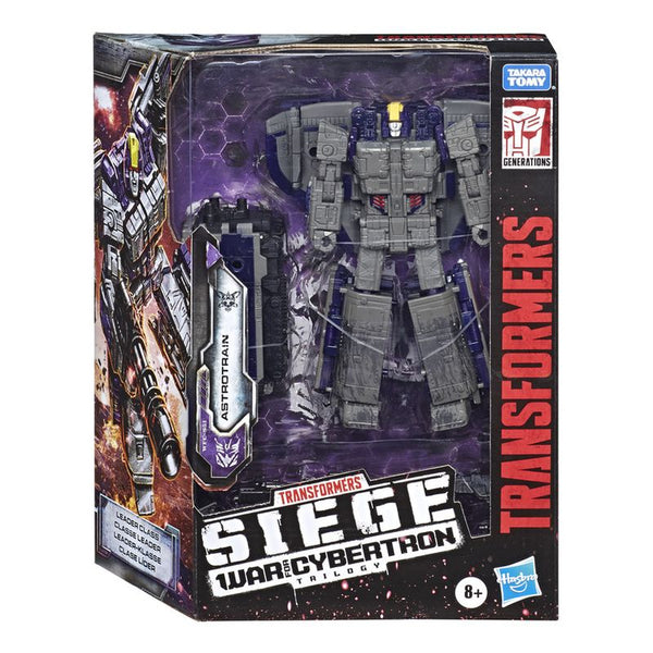 TRANSFORMERS WAR FOR CYBERTRON LEADER ASTROTRAIN