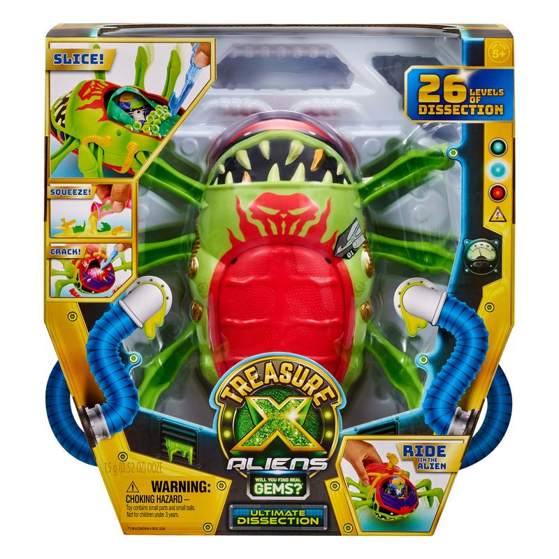 Treasure X Aliens Ultimate Dissection - Toyworld