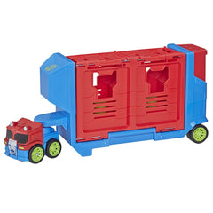 Playskool Transformers Rescue Bots Academy Flip Racers Launch Race Trailer Img 1 - Toyworld