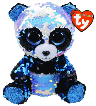 Ty Beanie Boos Flippables Bamboo Panda Medium - Toyworld