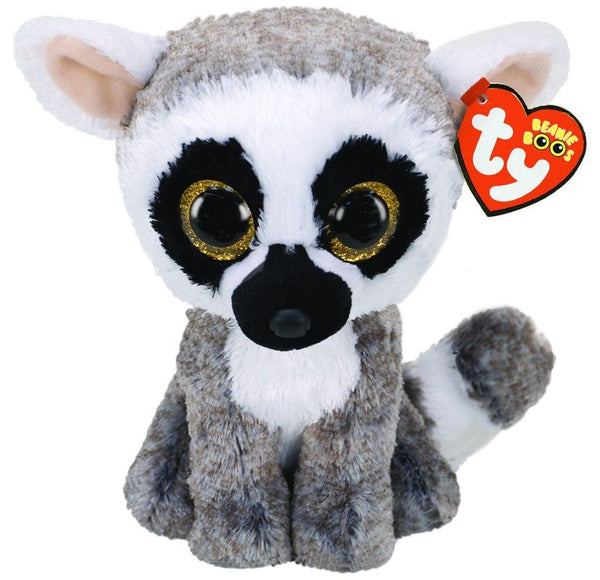 Ty Beanie Boos Linus Lemur Regular - Toyworld
