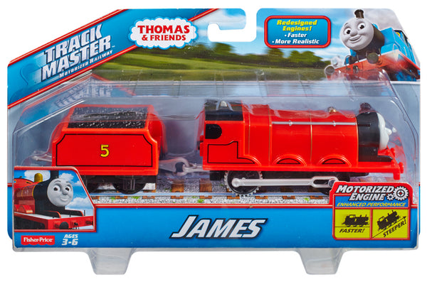 THOMAS AND FRIENDS TRACK MASTER BIG ENGINE JAMES