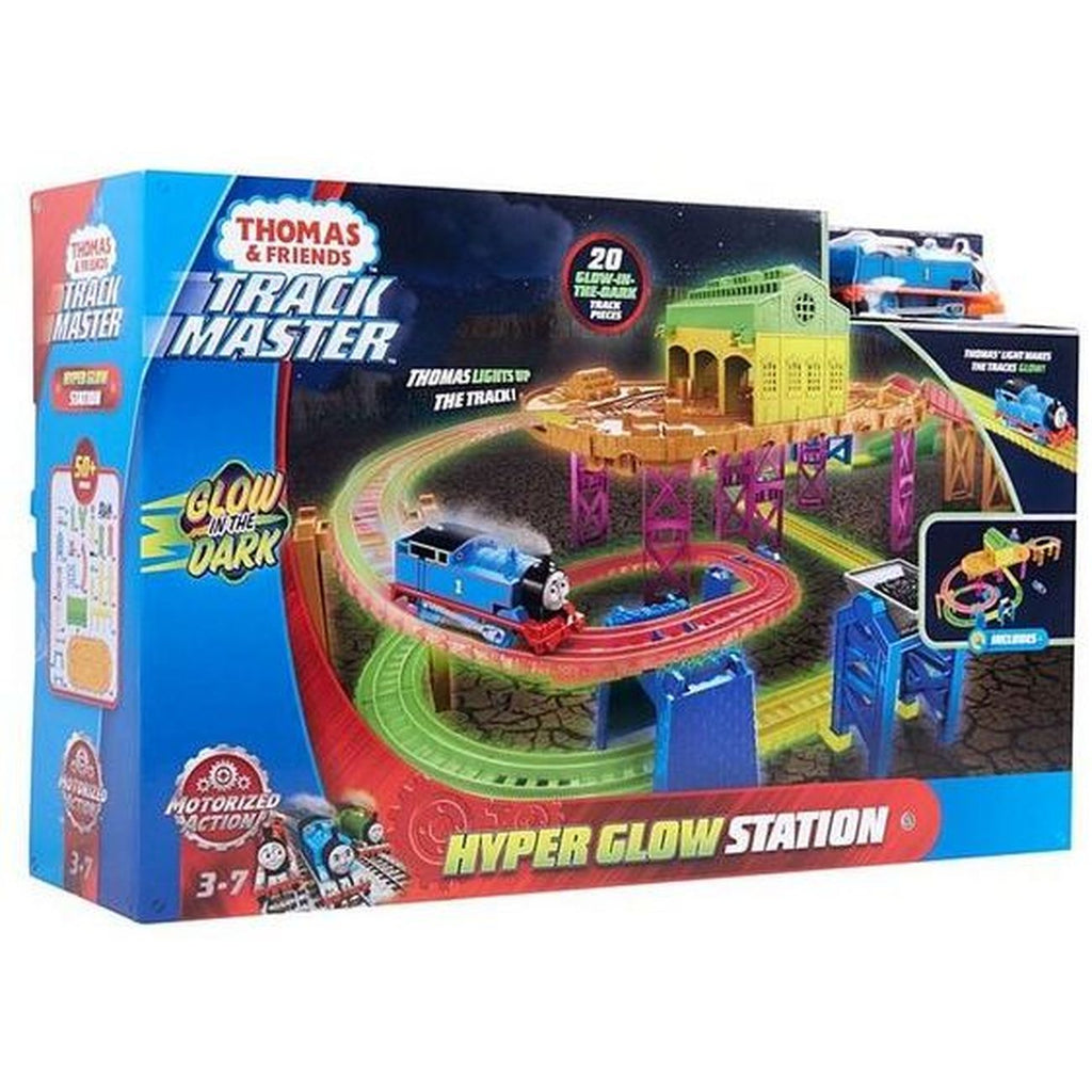 Thomas And Friends Hyper Glow Station Playset - Toyworld