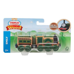 Thomas Friends Wooden Emily Large Engine Carriage - Toyworld