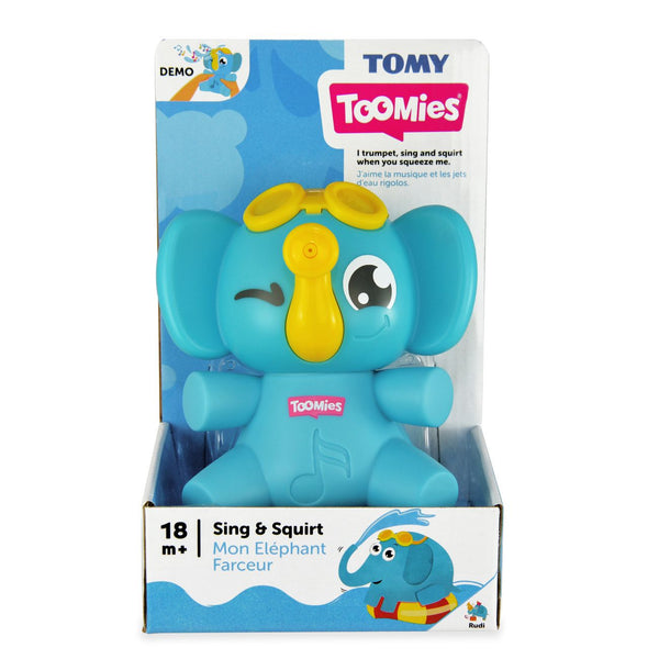 TOMY TOOMIES SING AND SQUIRT