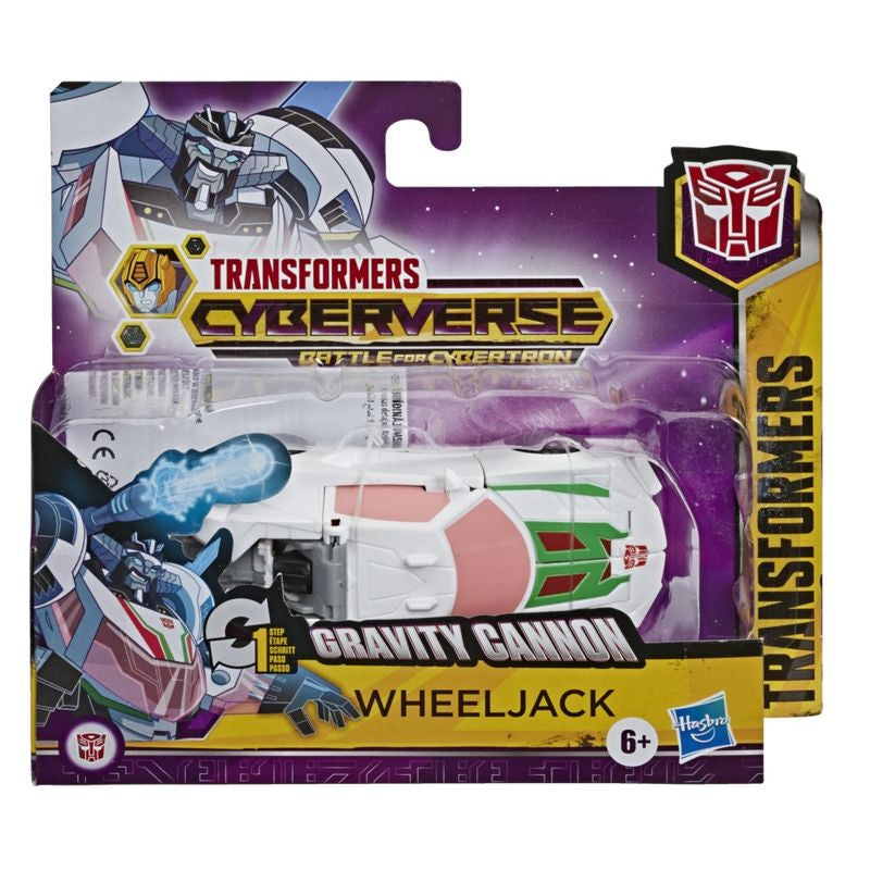 Transformers Cyberverse 1 Step Changer Gravity Cannon Wheeljack - Toyworld