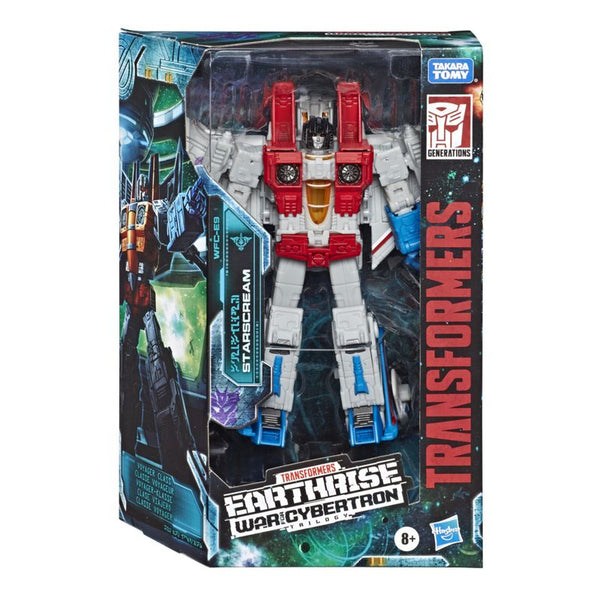 TRANSFORMERS WAR FOR CYBERTRON EARTHRISE STARSCREAM