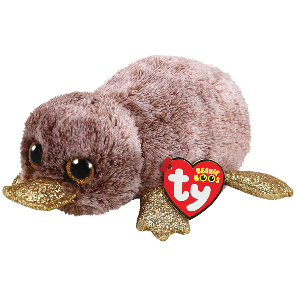 Ty Beanie Boos Perry The Brown Platypus - Toyworld
