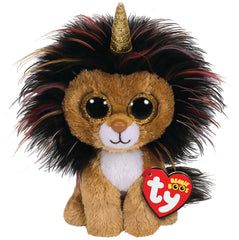 Ty Beanie Boos Ramsey The Lion With Horn Img 1 - Toyworld