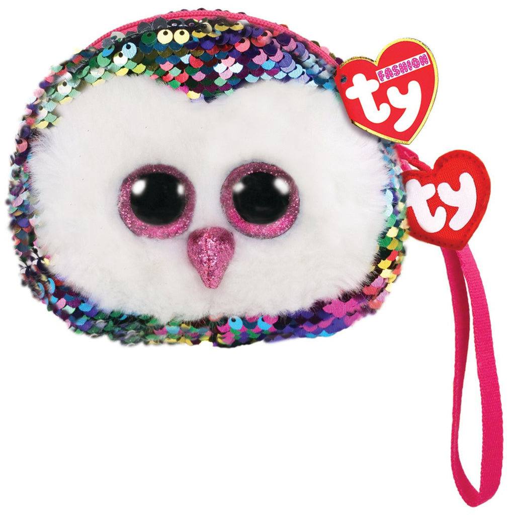 Ty Fashion Wristlet Owen The Multicoloured Owl - Toyworld