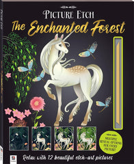 Picture Etch The Enchanted Forest - Toyworld