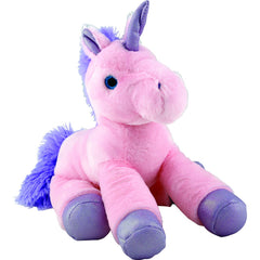 Unicorn 36cm Soft Toy Pink - Toyworld