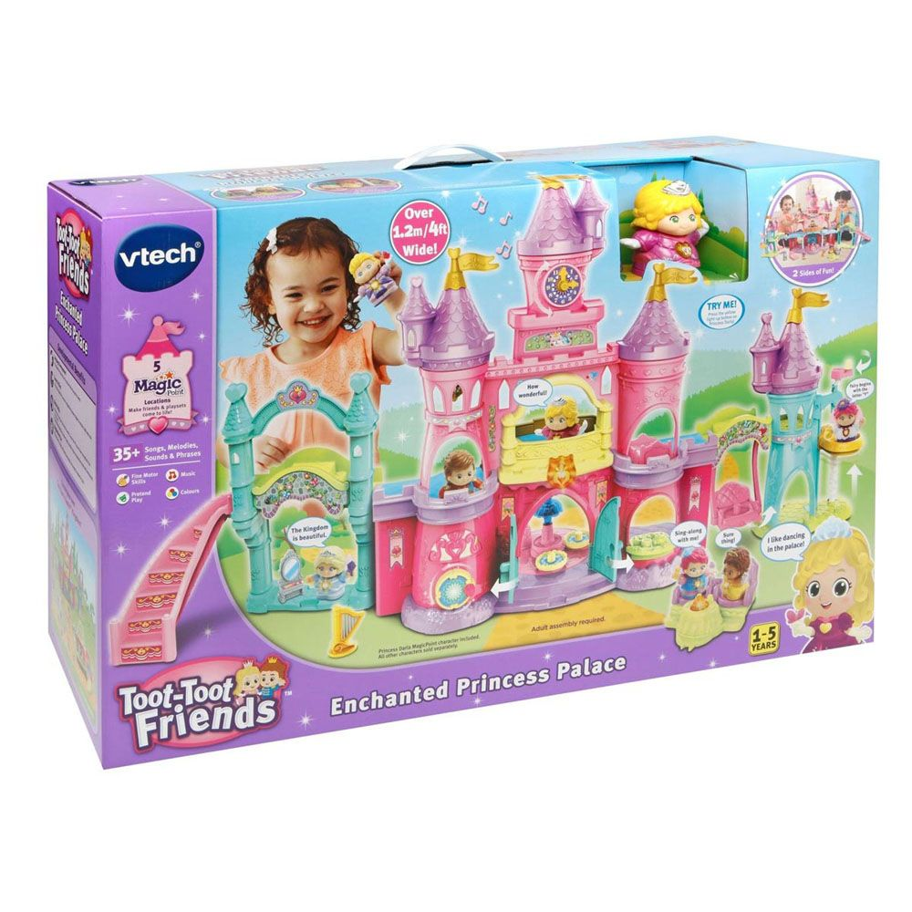 Vetch Toot Toot Friends Enchanted Princess Palace - Toyworld