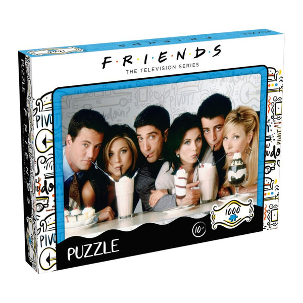 Friends Milkshake Puzzle 1000Pce - Toyworld