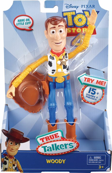TOY STORY 4 TRUE TALKERS WOODY