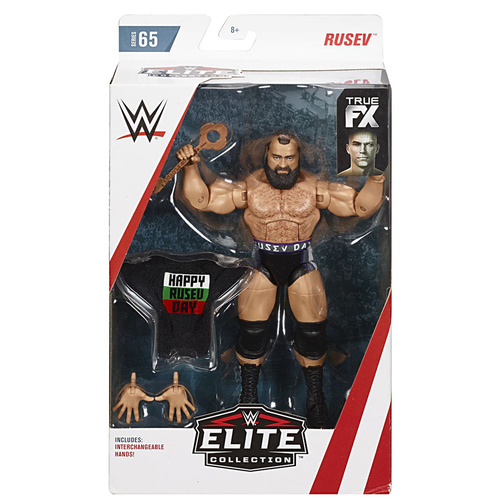 Wwe Elite Collection Figure Rusev - Toyworld