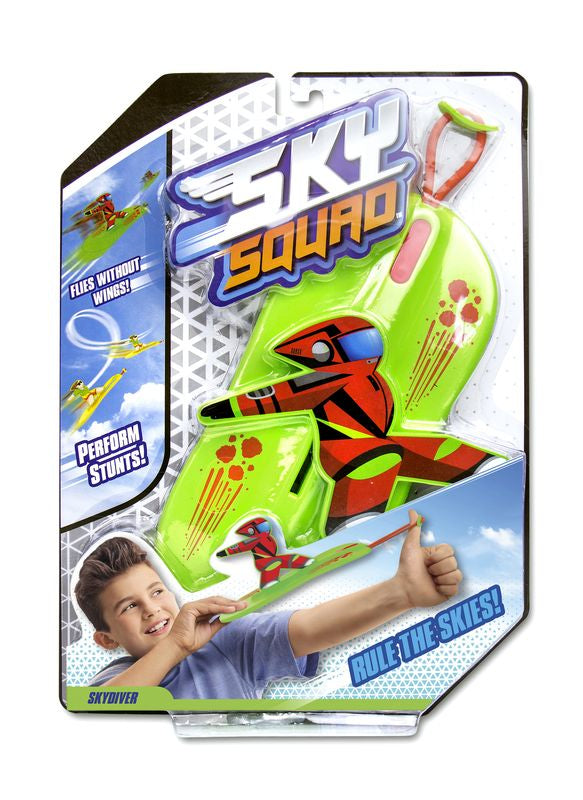 Zactiv Sky Squad Assorted Colours - Toyworld