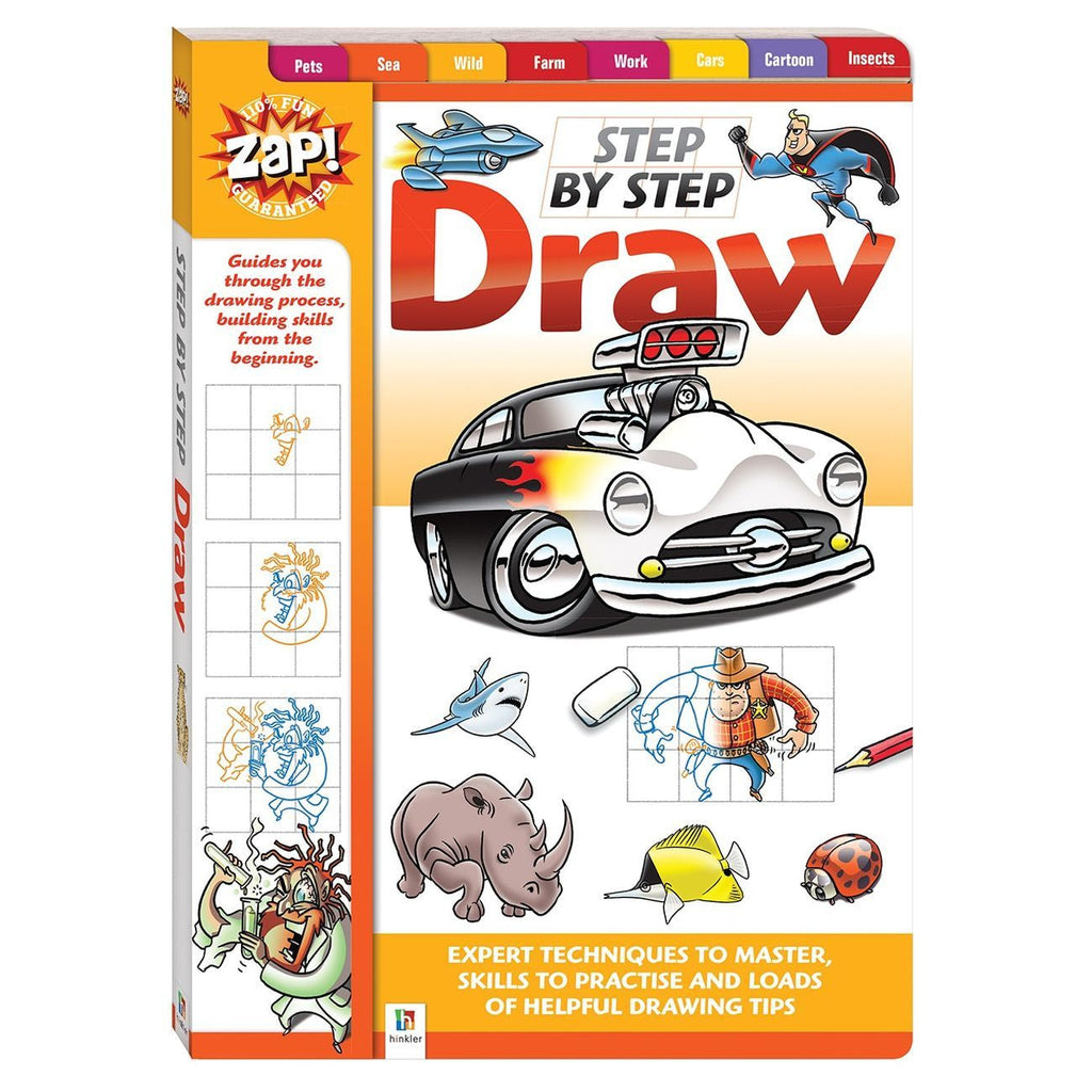 Zap Step By Step Learn How To Draw - Toyworld