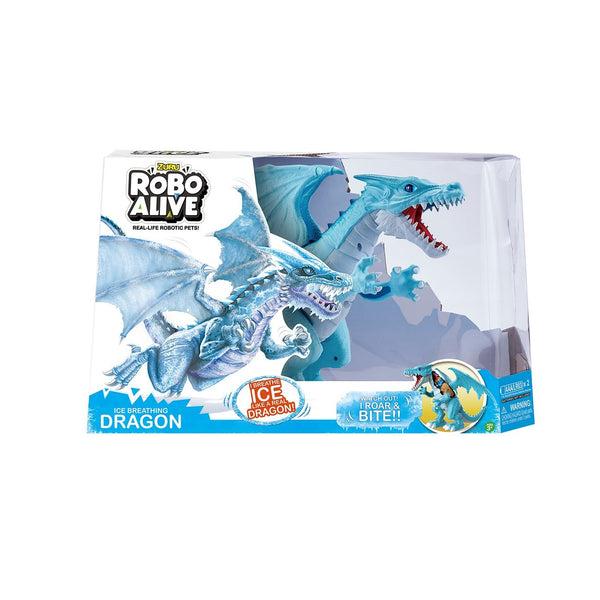 ZURU ROBO ALIVE ROBOTIC DRAGON ICE BREATHING DRAGON