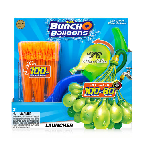 Zuru Bunch O Balloons Launcher With Balloons Assorted - Toyworld