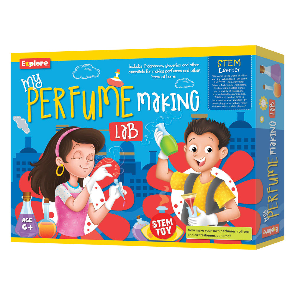 Stem Deluxe Kit My Perfume Making Lab - Toyworld